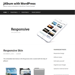 WordPress example